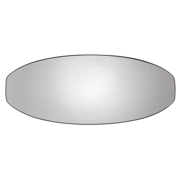Hickory Hardware H-HH74674-14 Contemporary/Wisteria Polished Nickel Oval Knob