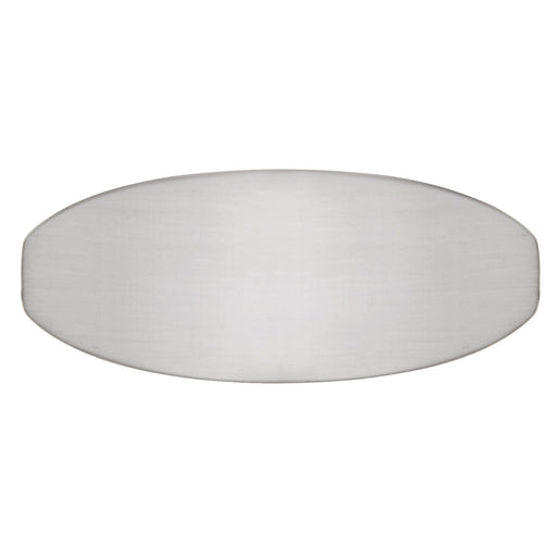 Hickory Hardware H-HH74674-SN Contemporary/Wisteria Satin Nickel Oval Knob - Knob Depot