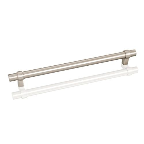 Jeffrey Alexander JA-5224SN Key Grande  Satin Nickel Bar Pull - Knob Depot