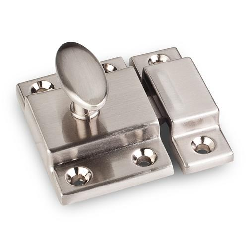 Jeffrey Alexander JA-CL101-SN Latches Satin Nickel Catch or Latch - Knob Depot