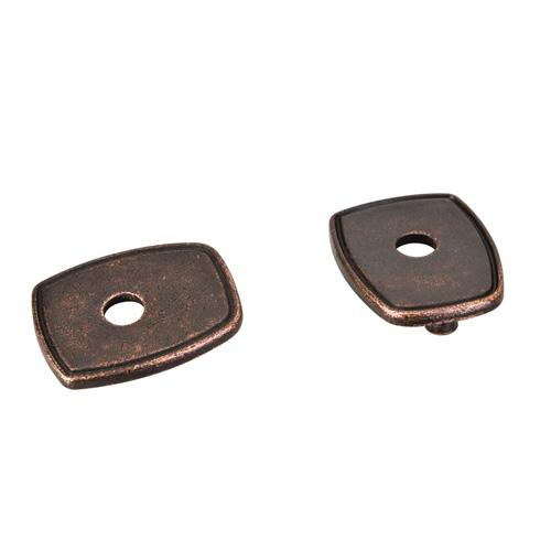 Jeffrey Alexander JA-PE07-DMAC Pull Escutcheons Distressed Oil-Rubbed Bronze - Knob Depot