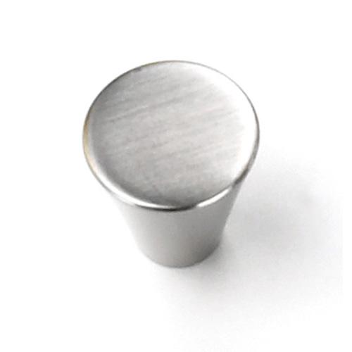Laurey L-26059 Delano Brushed Satin Nickel Small Cone Knob - Knob Depot