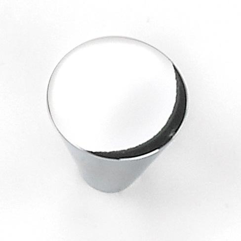 Laurey L-26126 Delano Polished Chrome Large Cone Knob - Knob Depot
