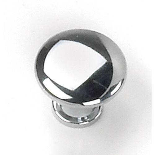 Laurey L-26326 Delano Polished Chrome Round Knob - KnobDepot.com