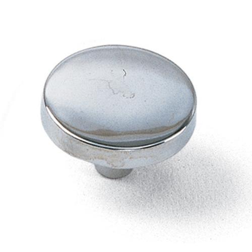 Laurey L-34526 Tech Polished Chrome Round Knob - KnobDepot.com