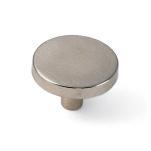 Laurey L-34539 Tech Satin Chrome Round Knob - Knob Depot