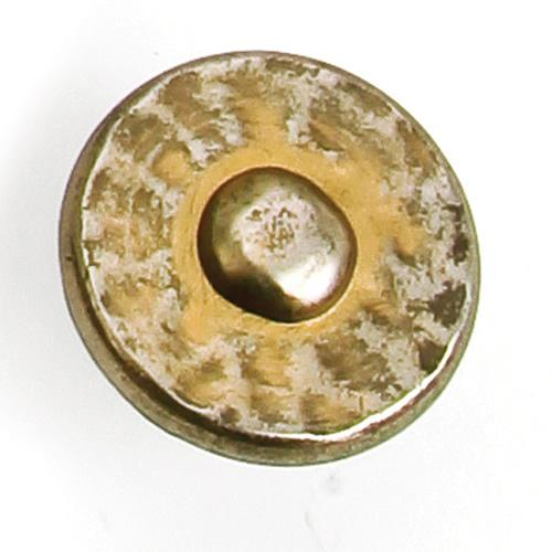 Laurey L-37676 Nevada Antique Pewter w\ Stone Wash Round Knob - KnobDepot.com