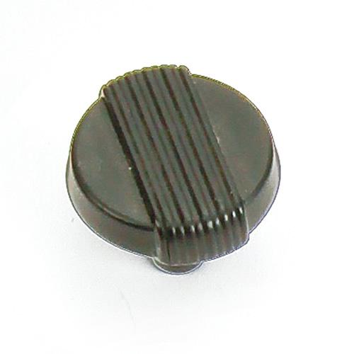 Laurey L-39020 Wired Iron Black Round Knob - KnobDepot.com
