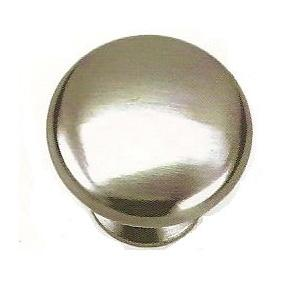 Laurey L-53928 Kensington Brushed Satin Nickel Round Knob - Knob Depot
