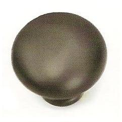 Laurey L-53966 Kensington Oil Rubbed Bronze Round Knob - KnobDepot.com