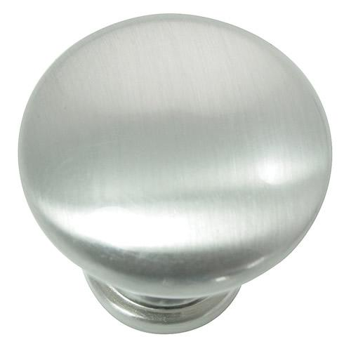 Laurey L-54628 Danica Brushed Satin Nickel Round Knob - KnobDepot.com