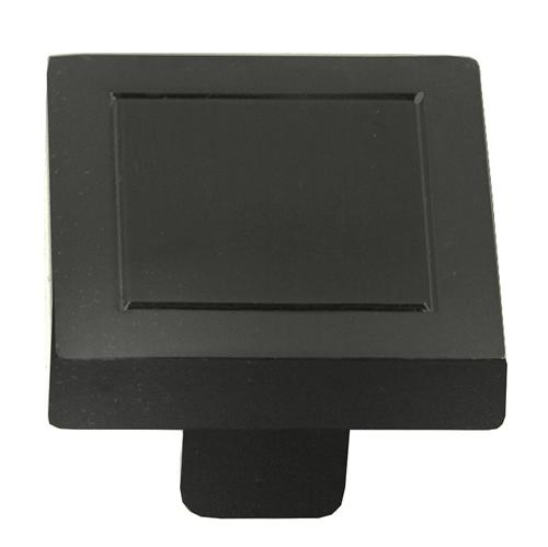 Laurey L-72866 Cosmo Oil Rubbed Bronze Square Knob - Knob Depot