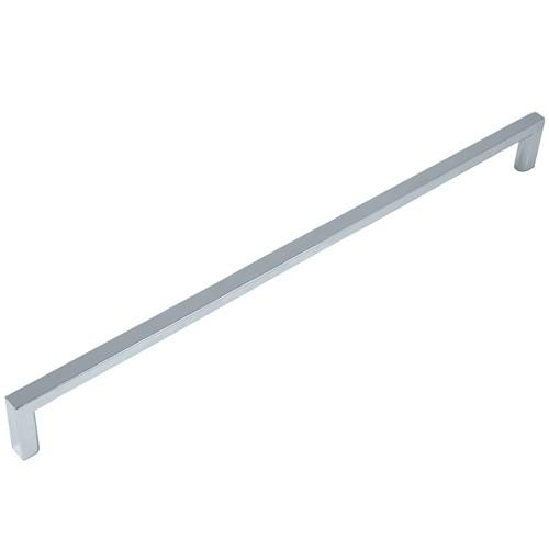 Laurey L-73426 Cosmo Polished Chrome Square D Handle - KnobDepot.com