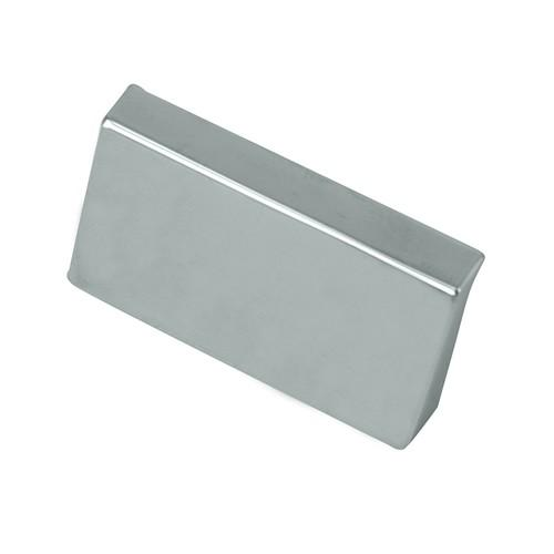 Laurey L-74926 Contempo Polished Chrome Finger Pull - KnobDepot.com