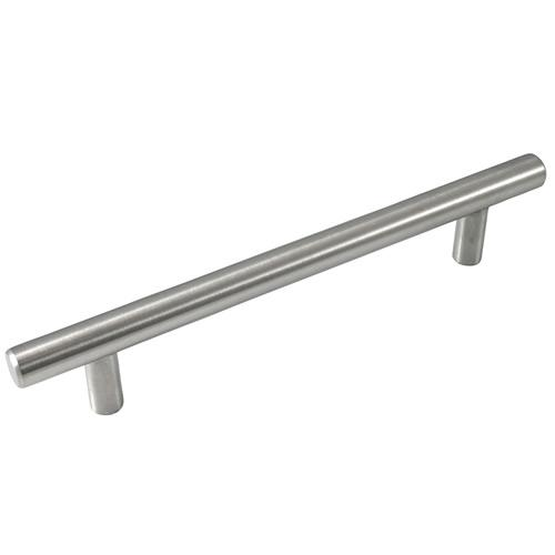 Laurey L-87002 Melrose Brushed Satin Nickel Bar Pull - KnobDepot.com