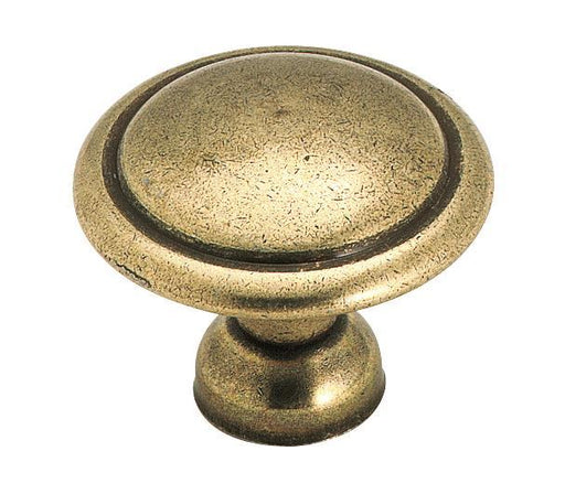 Amerock A-848LB Allison Light Brass Round Knob - Knob Depot