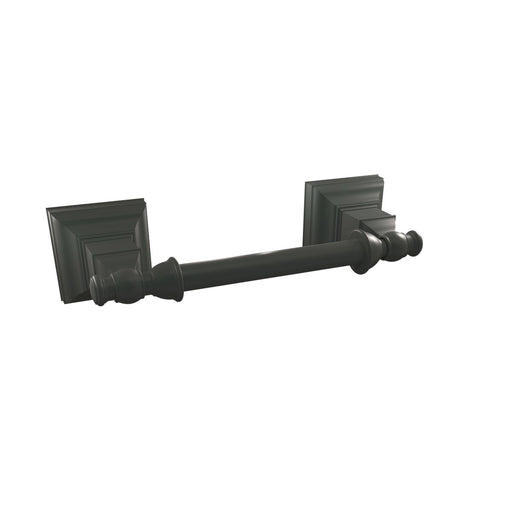 Amerock A-BH26517MB Markham Matte Black Tissue Roll Holder - Knob Depot