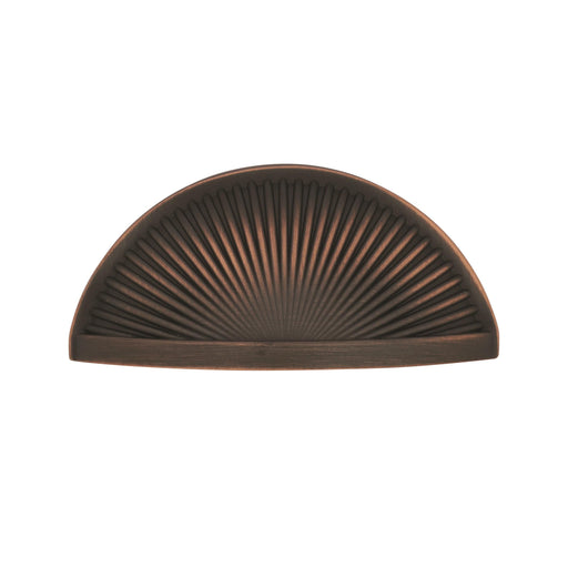 Amerock A-BP36615ORB Sea Grass  Oil-Rubbed Bronze Cup Pull - Knob Depot
