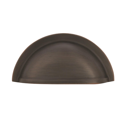 Amerock A-BP4235ORB Advantage Solid Brass Oil-Rubbed Bronze Cup Pull - Knob Depot