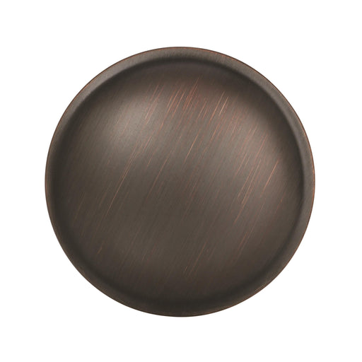Amerock A-BP53015ORB Allison Value Hardware Oil Rubbed Bronze Round Knob - Knob Depot