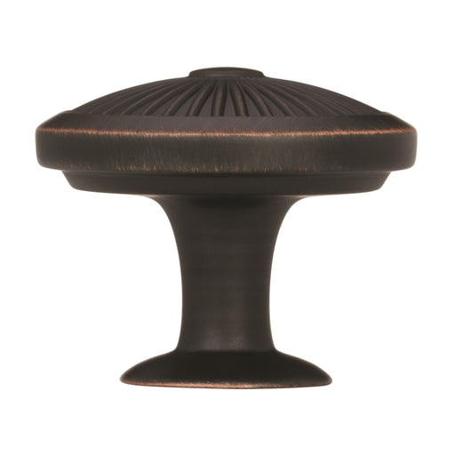 Amerock A-BP36613ORB Crawford Oil-Rubbed Bronze Round Knob - KnobDepot.com