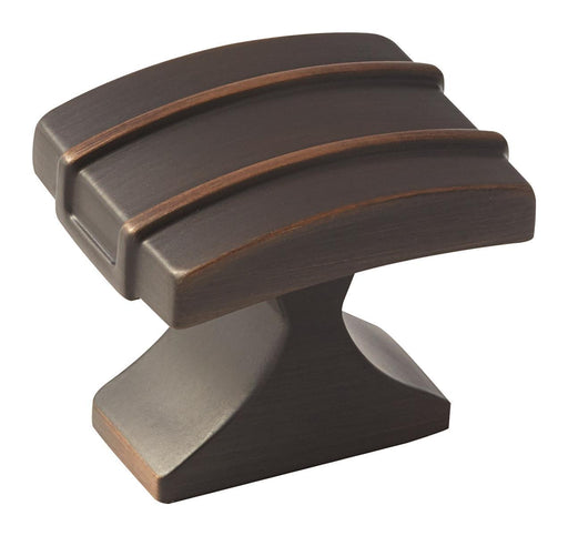 Amerock A-BP36601ORB Davenport Oil-Rubbed Bronze Rectangular Knob - KnobDepot.com