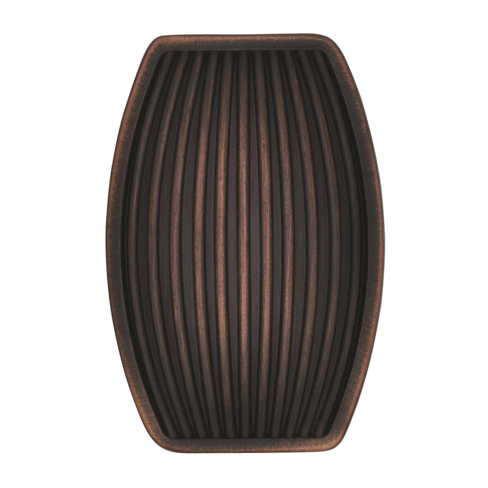 Amerock A-BP36614ORB Sea Grass  Oil-Rubbed Bronze Rectangular Knob - Knob Depot