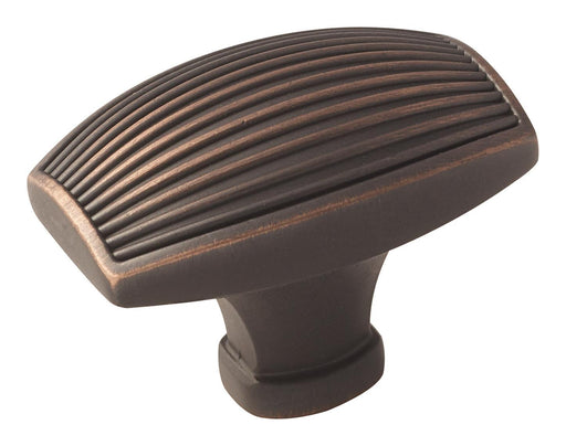 Amerock A-BP36617ORB Sea Grass  Oil-Rubbed Bronze Rectangular Knob - KnobDepot.com