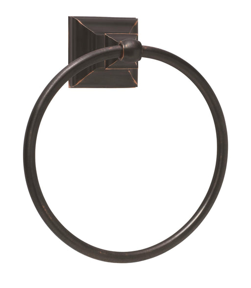 Amerock A-BH26511-ORB Markham - Bathroom Oil-Rubbed Bronze Towel Ring - Knob Depot