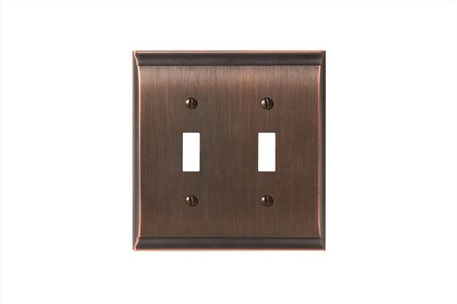 Amerock A-BP36501ORB Candler Oil Rubbed Bronze Wall Plate - Knob Depot