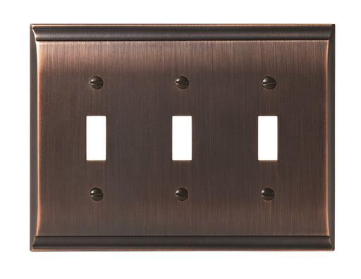 Amerock A-BP36502ORB Candler Oil Rubbed Bronze Wall Plate