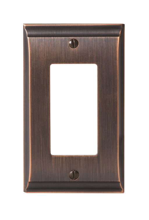 Amerock A-BP36504ORB Candler Oil Rubbed Bronze Wall Plate - Knob Depot