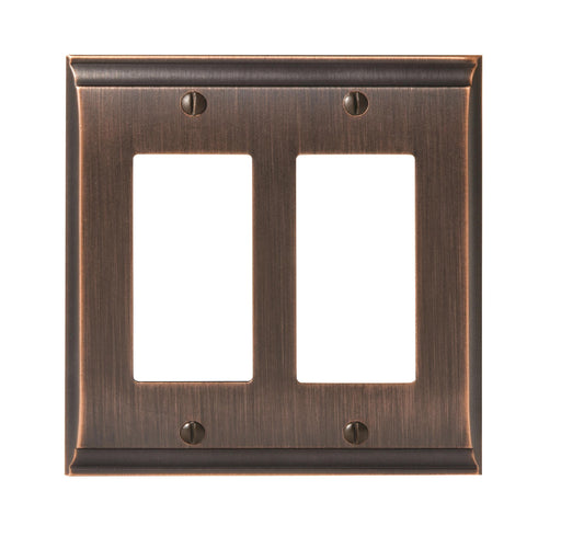 Amerock A-BP36505ORB Candler Oil Rubbed Bronze Wall Plate - Knob Depot