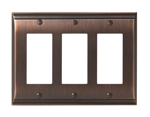 Amerock A-BP36506ORB Candler Oil Rubbed Bronze Wall Plate - Knob Depot