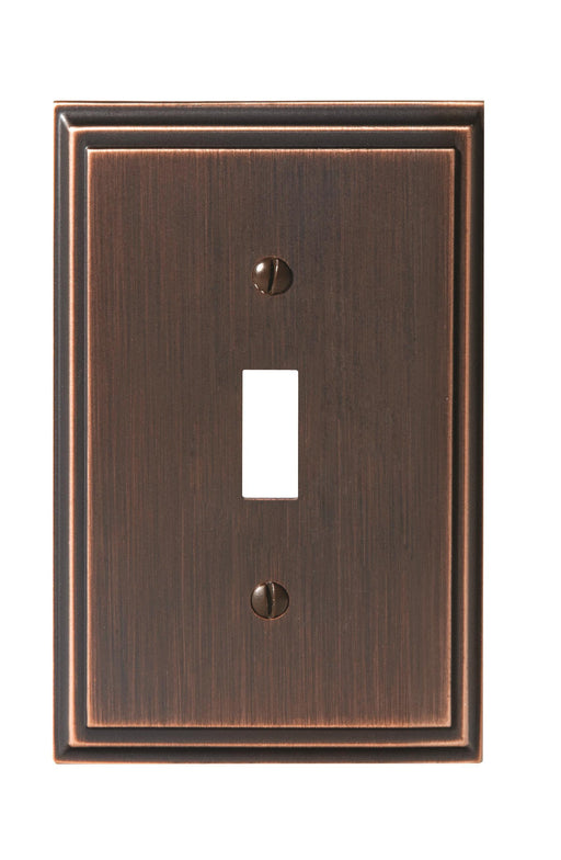 Amerock A-BP36514ORB Mulholland Oil Rubbed Bronze Wall Plate - Knob Depot