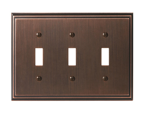 Amerock A-BP36516ORB Mulholland Oil Rubbed Bronze Wall Plate - Knob Depot
