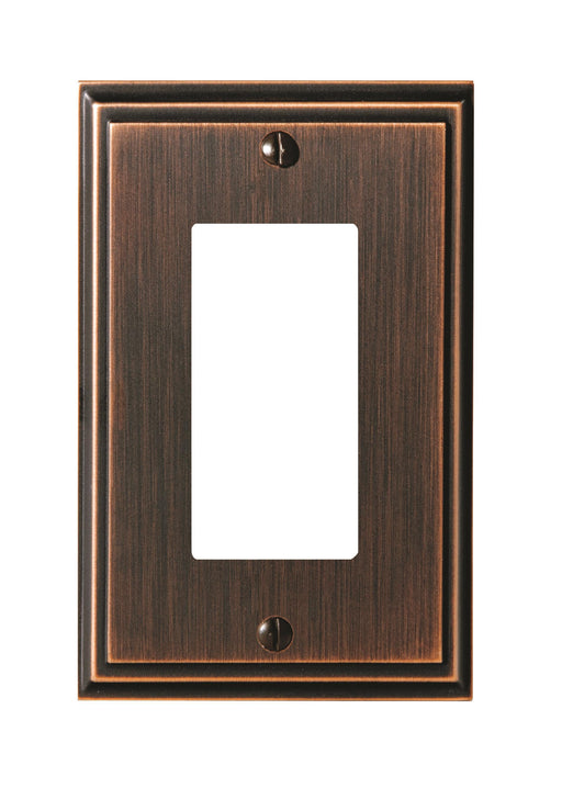 Amerock A-BP36518ORB Mulholland Oil Rubbed Bronze Wall Plate - Knob Depot