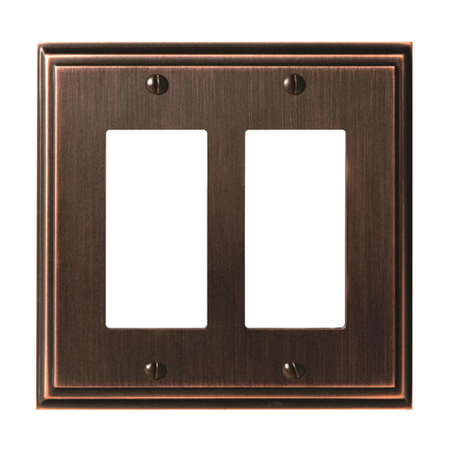 Amerock A-BP36519ORB Mulholland Oil Rubbed Bronze Wall Plate - Knob Depot