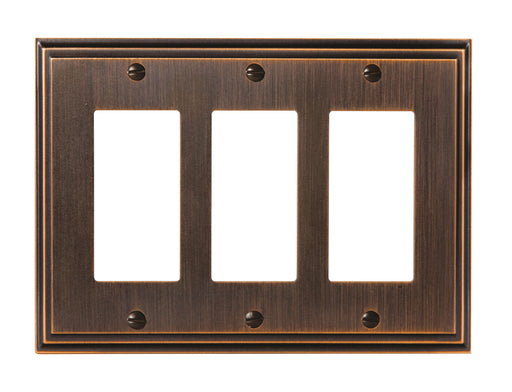 Amerock A-BP36520ORB Mulholland Oil Rubbed Bronze Wall Plate - Knob Depot