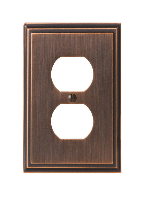 Amerock A-BP36522ORB Mulholland Oil Rubbed Bronze Wall Plate - Knob Depot