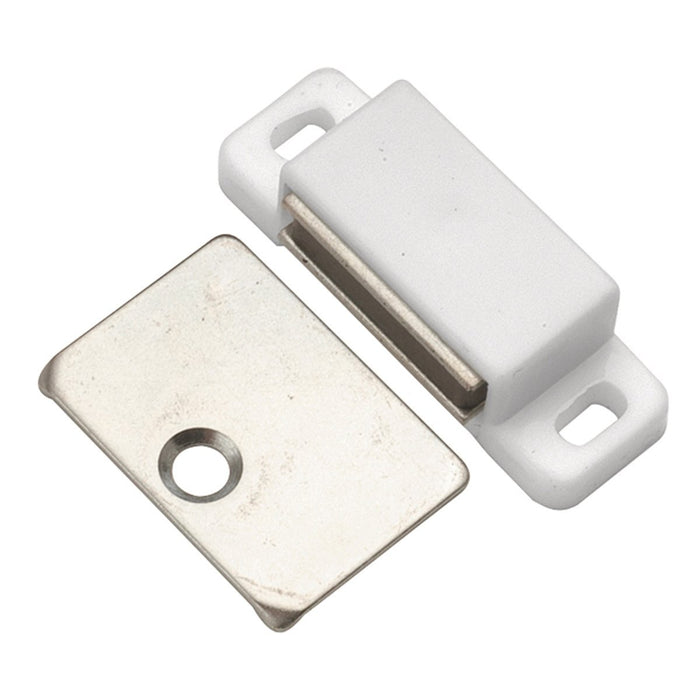 Hickory Hardware H-P109-W Functional/Catches White Catch or Latch - KnobDepot.com