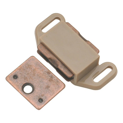 Hickory Hardware H-P110-TP Functional/Catches Tan Plastic Catch or Latch - KnobDepot.com
