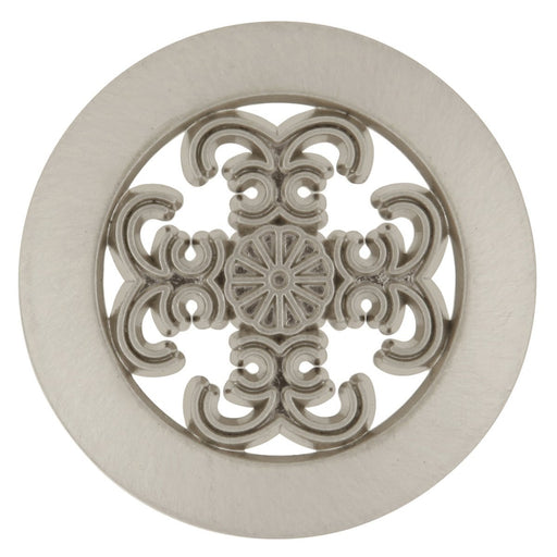 Hickory Hardware H-P117-SN Traditional/Cavalier Satin Nickel Round Knob - KnobDepot.com
