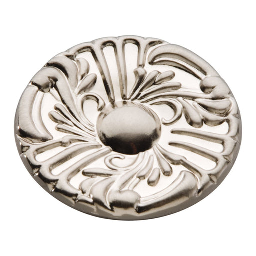 Hickory Hardware H-P119-SN Traditional/Cavalier Satin Nickel Round Knob - KnobDepot.com