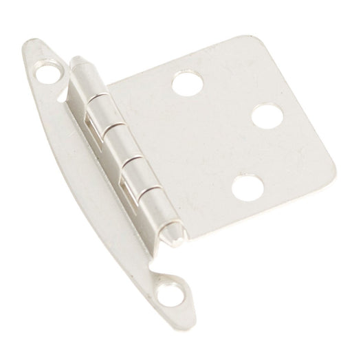 Hickory Hardware H-P139-SN Functional/Surface Mount Satin Nickel Hinge - KnobDepot.com