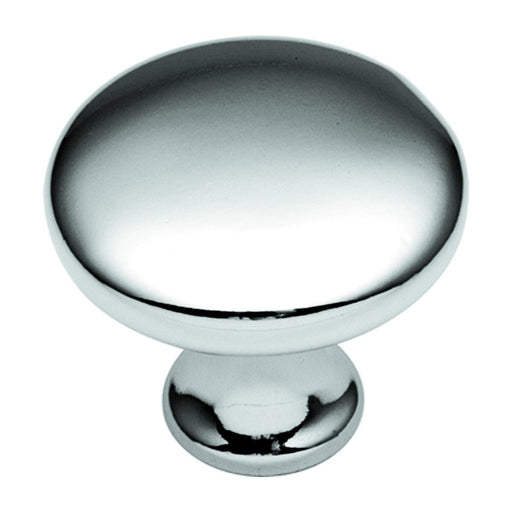 Hickory Hardware H-P14255-26 Contemporary/Conquest Chrome Round Knob - KnobDepot.com