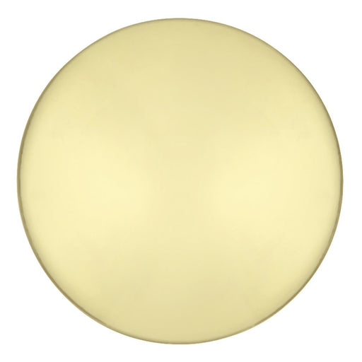 Hickory Hardware H-P14255-3 Contemporary/Conquest Polished Brass Round Knob - Knob Depot