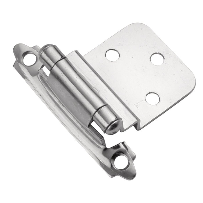 Hickory Hardware H-P143-26 Functional/Surface Self-Closing Chrome Hinge