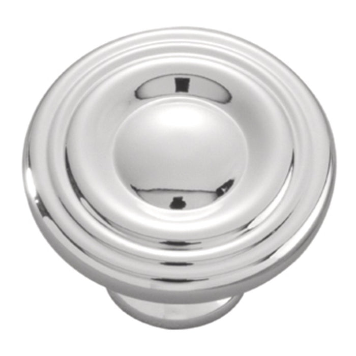 Hickory Hardware H-P14402-26 Contemporary/Conquest Chrome Round Knob - Knob Depot