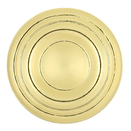 Hickory Hardware H-P14402-3 Contemporary/Conquest Polished Brass Round Knob - Knob Depot